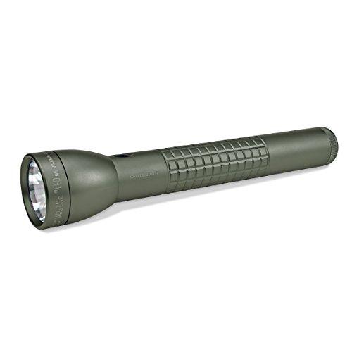 Maglite Green Flashlight - MagLite ML300LX LED 3-Cell D Display Box, Foliage Green