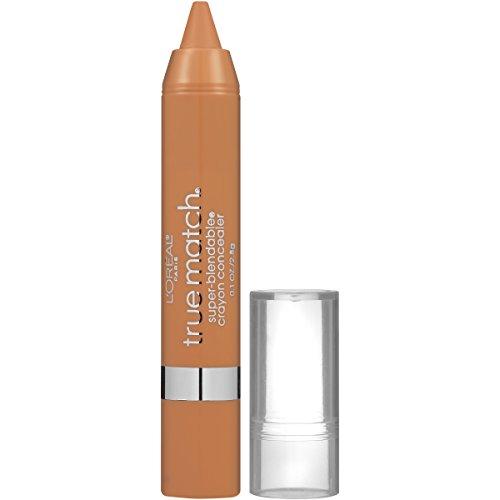 L'Oréal Paris True Match Super Blendable Crayon Concealer, Medium/Deep Warm, 0.1 oz.