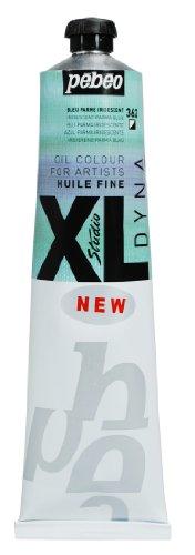 PEBEO Studio XL Fine Oil 180-Milliliter, Iridescent Blue Parma
