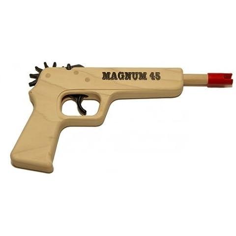 Magnum Enterprises Magnum 12 Pistol 45 Rubber Band Gun - Magnum Handgun