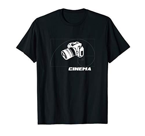DSLR CINEMA - Camera Low Budget Filmmaker Movie Shirt (Best Cinema Camera Under 10000)