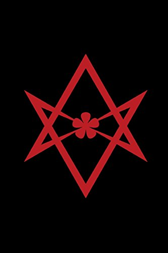 Unicursal Hexagram: Thelema - Magical Journal - Red and Black | Bullet Journal Dot Grid Pages (Journal, Notebook, Diary, Composition Book) (Volume 3)