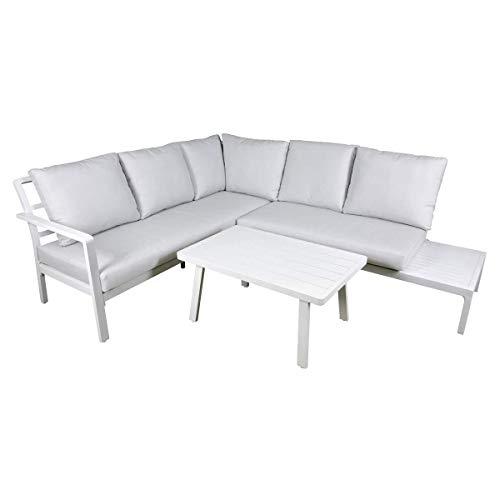 Dellonda Kyoto 3-Piece Garden Corner Sofa Set