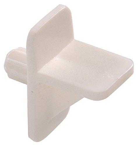 the hillman group 520571/10.2cm cuadrado pin-white estantería de plástico, 15-Pack