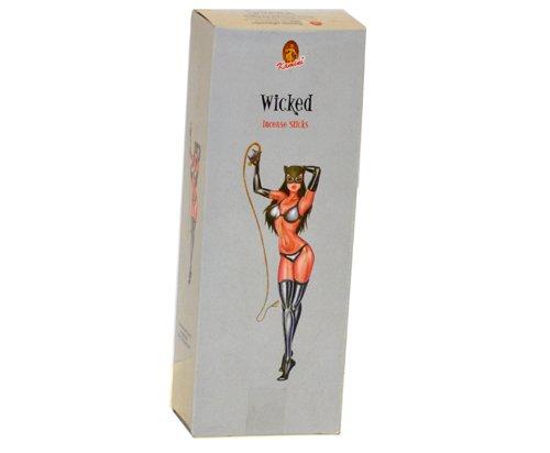 - Kamini Wicked 6 Hexagon Boxes of 20 Sticks 120 Sticks Total
