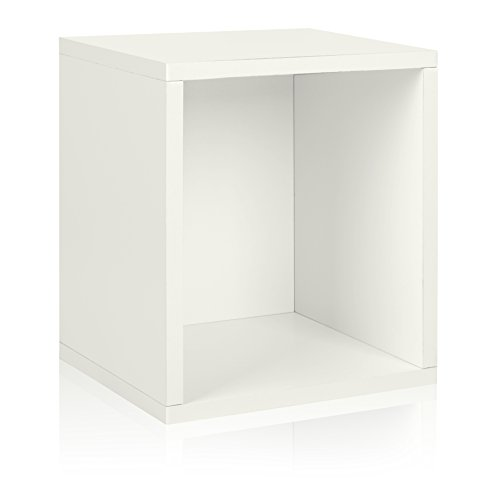 Way Basics Eco Stackable Storage Cube Plus and Cubby Organiz