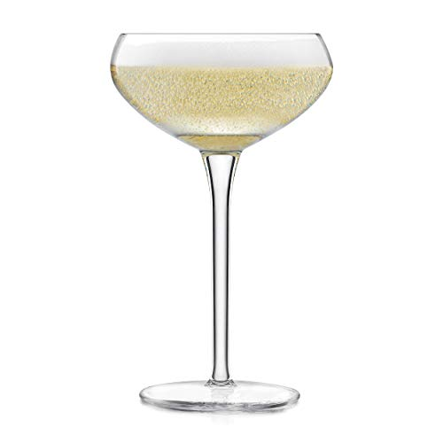 Libbey Signature Kentfield Coupe Cocktail Glasses, Set of - 4 Round Champagne