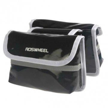Bheema Roswheel Fahrradrahmen vorne Rohr Double Side Bag - Green
