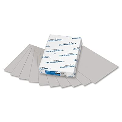 Hammermill Super-Premium Paper - Letter - 8.5'' x 11'' - 20lb - Recycled - 500 / Ream - Gray