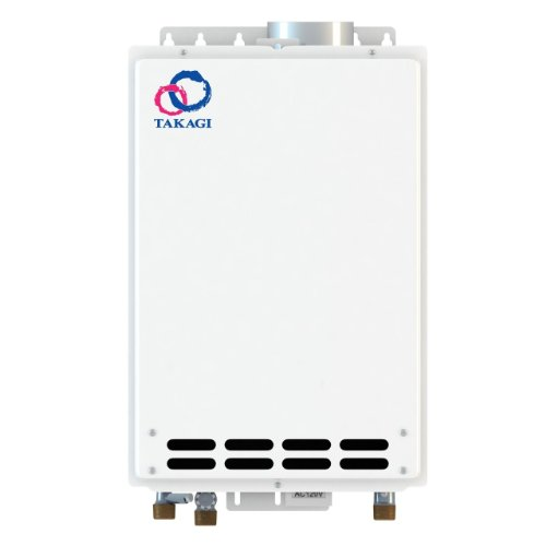 Takagi T-KJr2-IN-NG Indoor Tankless Water Heater, Natural - Water Gas Power Vent Heater