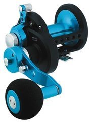 2spd 2 Speed Lever Drag - Daiwa STTLD40-2SPD Saltist 2-Speed Conventional Lever Drag Reel, Blue Finish