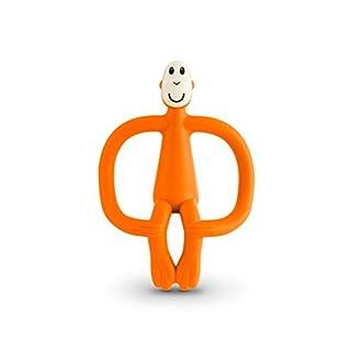 Matchstick Monkey Baby Teether - Teething Toy (Orange)