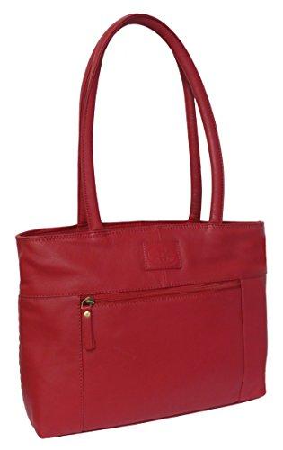 Rowallan, Borsa a spalla donna Rosso Red large