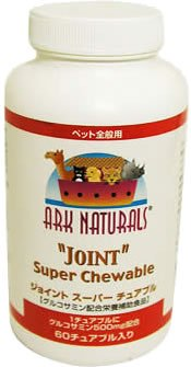 "Ark Naturals Joint""Rescue"" Super Strength Chewable for All Pets, 60 Count"