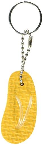 Flip Flop Key Rings (Amscan Colorful Mini Flip Flop Keychain Party Favor & Prize Giveaway Set, 2 1/8