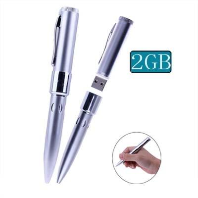 2GB USB2.0 Pen Driver (Silver) Data Storage