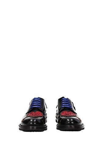 amp;Gabbana CN0037AI522 Donna Pelle Derby Nero Dolce EU USqdFwI