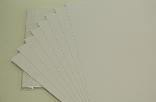 20 x A4 Smooth White Ivory/Bristol Board 335gsm AM440 Jackdaw Express