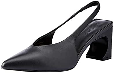 Jaggar Women's Sculpted High Heel Pump, Black, 37 EU