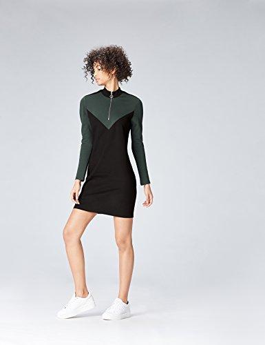 Robe Femme FIND Schwarz Noir FIND Robe qpv0wang