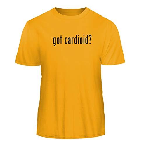 Tracy Gifts got Cardioid? - Nice Men's Short Sleeve T-Shirt, Gold, Medium