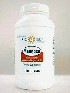 D-Mannose Powder – 3.53 oz (100 Grams) by Bio-Tech Pharmacal For Sale