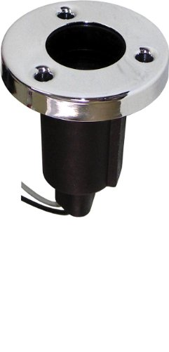 Shoreline Marine Base Stern Light Stainless Steel Round (Marine Stern Light)
