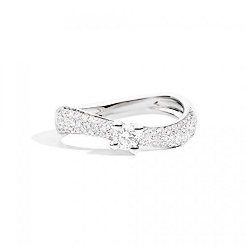 Bague recarlo Femme xe176/063or blanc diamant