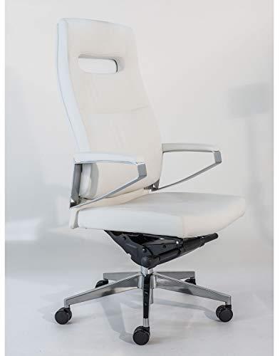 Sigma Office - Silla de Oficina ergonomica con Respaldo Alto y Brazos.