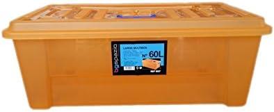 BG Spazio - Caja de ordenación Larga 60 litros: Amazon.es: Hogar