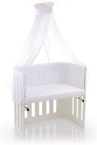 Multi Color White One Size babybay Canopy with Ribbon