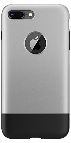 Price comparison product image Spigen Classic One [10th Anniversary Limited Edition] iPhone 8 Plus Case with Air Cushion Technology for Apple iPhone 8 Plus (2017) - Aluminum Gray