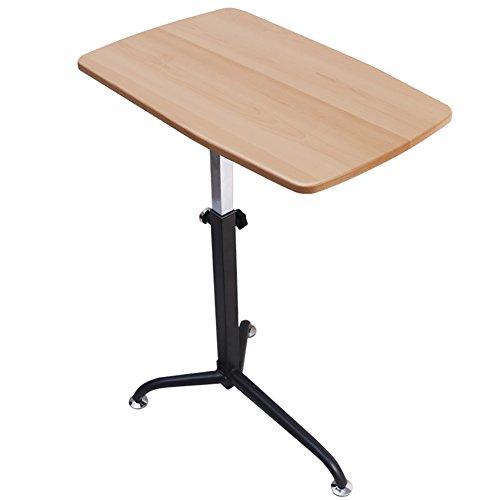 Table d'ordinateur réglable Bedside Laptop Desk Simple Secrétaire Famille Ezlife ( Couleur : Burlywood )