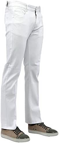 Perruzo Men's Slim Fit Stylish Stretch Jeans
