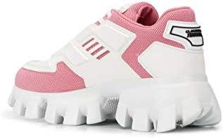 Prada Luxury Fashion Damen 1E819L3L5XF0A3D Rosa Polyamid Sneakers | Frühling Sommer 20