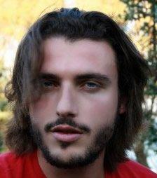 Manly Guy BRUN cheveux, la barbe, moustache et couleur: 100% naturel et sans produits chimiques