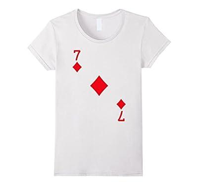 Seven of Diamonds Costume T-Shirt Halloween Deck of Cards