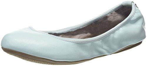 Women mint Butterfly Closed Flats Verde Toe Twists Ballet Sophia 85qrBf5w