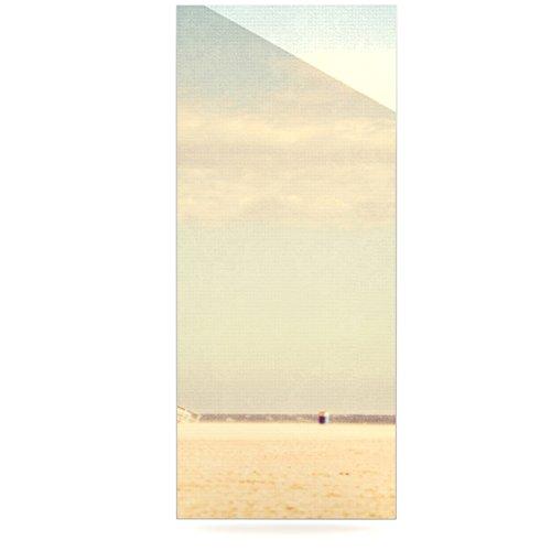 24 x 36 Kess InHouse Myan Soffia Toffee-Marshmallow Sandy Beach Luxe Rectangle Panel