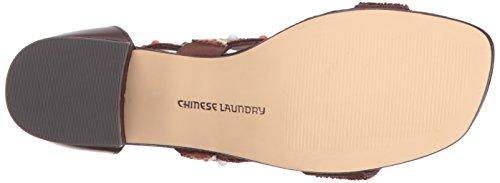 Absatz Sandalen Laundry Chinese mit Brown Leather Frauen dEIwvwq
