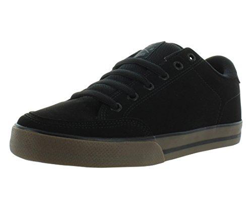 C1RCA Men's AL50 Adrian Lopez Lightweight Insole Skate Shoe Athletic Shoe, Black/Gum, 10.5 Medium US