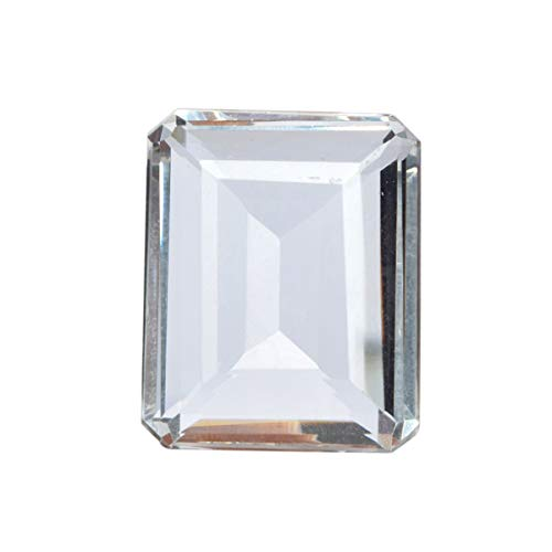 A Grade White Topaz 92.55 Ct Faceted White Topaz Jewelry Making Loose Gemstone