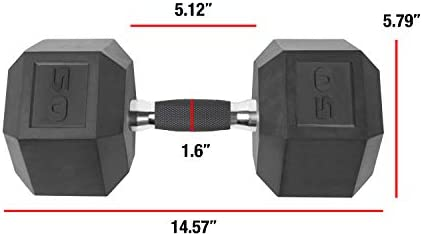 CAP Barbell mancuerna Revestido de PVC, Individual 4