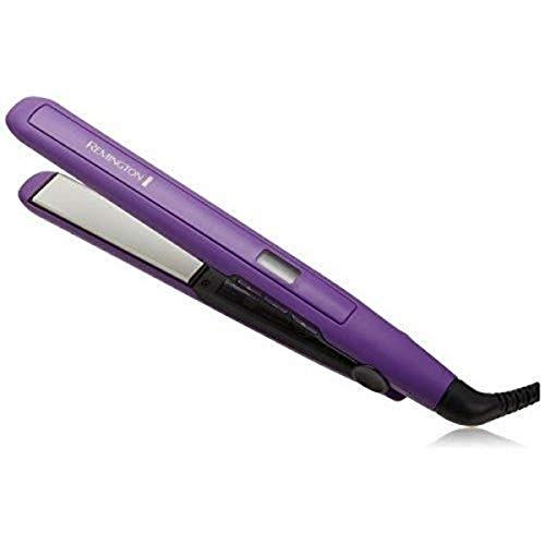 Remington Amazing Hair Bundle: Anti Static Ceramic Hair Straightener & Digital 1-1 ½ Inch Ceramic Curling Wand