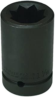 product image for Wright Tool 8936R 1-1/8-Inch 8 Point Double Square Deep Impact Railroad Socket
