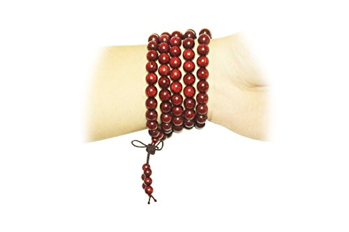 Pipalsky-Exquisite-Traditional-Chinese-Zen-Beads8mm108-Indian-Pterocarpus-Santalinus-Wood-Handmade-Limited-Edition