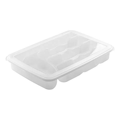 Porta Talher Tampa Sanremo Transparente plástico