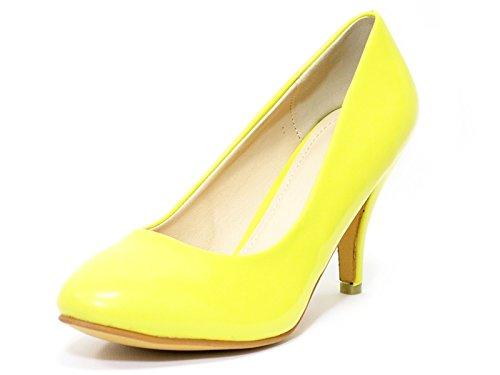 Heel Shoes Yellow Court Ktc Mid Women's RvxEnqOSS