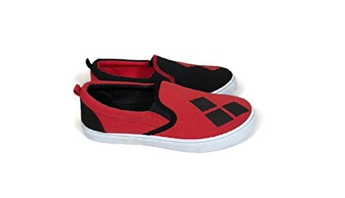92eb03829d5b DC Comics Women s Ladies Harley Quinn Slip On Sneaker