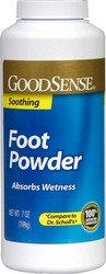 Price comparison product image Good Sense Foot Powder Case Pack 12